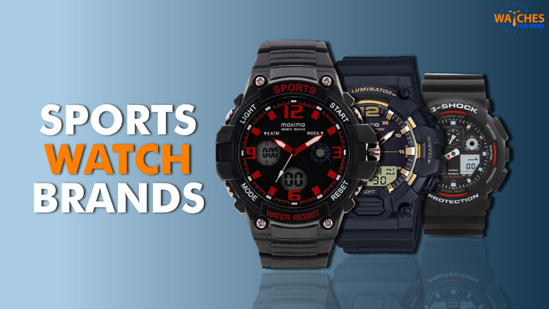 Sports watch brands in India