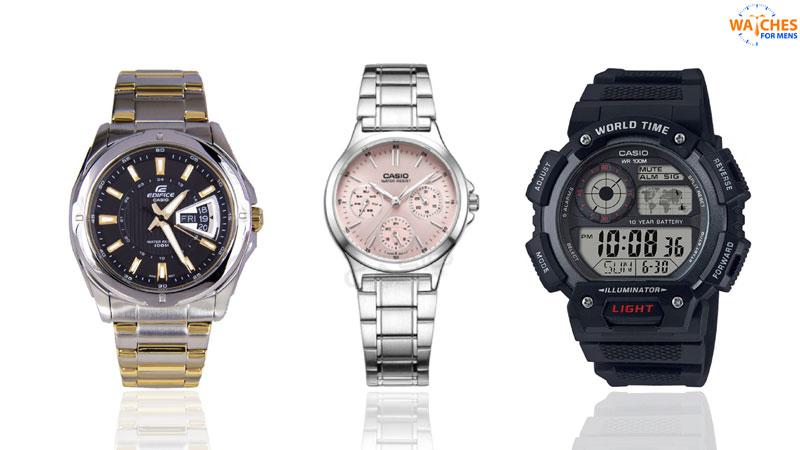 Casio Top watch brands for men in India