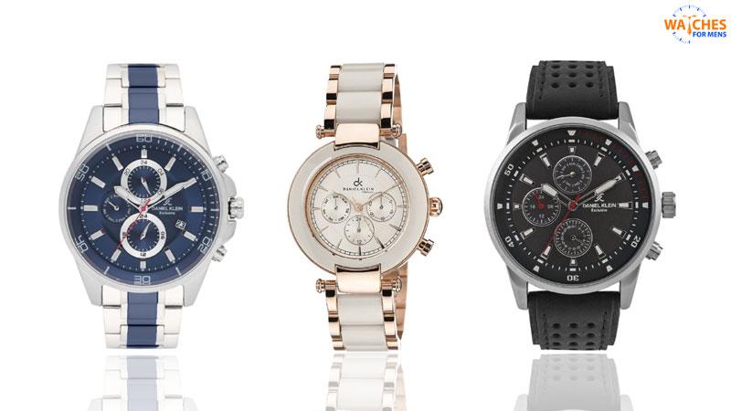 Daniel Klein Top watch brands for men in India
