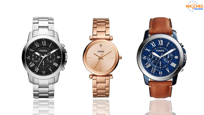 Fossil Top watch brands for men in India