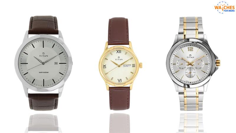 Titan Top watch brands for men in India