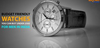 Best Watches under 2500 Rupees for Men in India that Look Professional