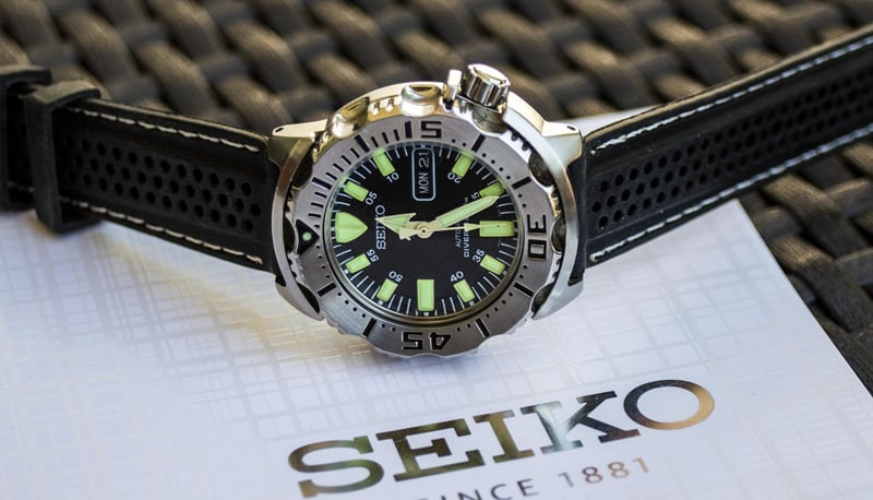 Different Types of wrist Watches - Diving watch