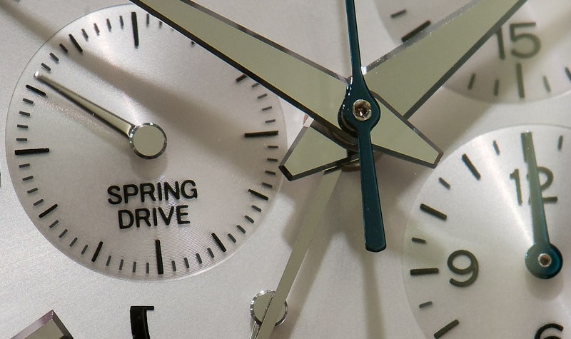 Different Types of wrist Watches - Spring Drive watch