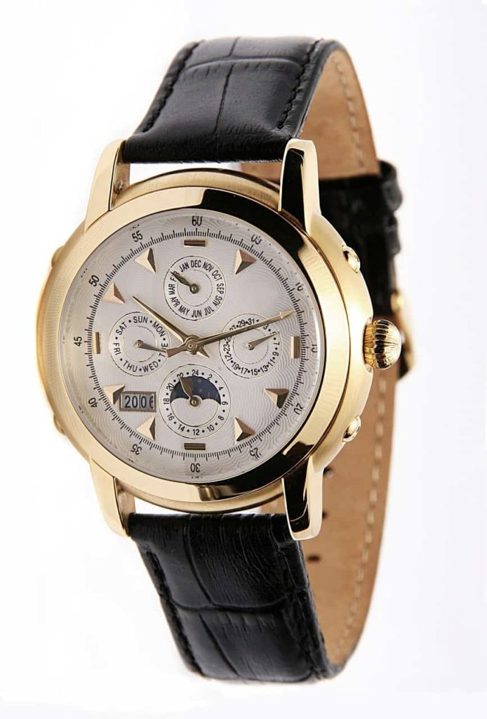 Different Types of wrist Watches - Chronometer watch