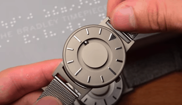 Different Types of wrist Watches - Tactile watch